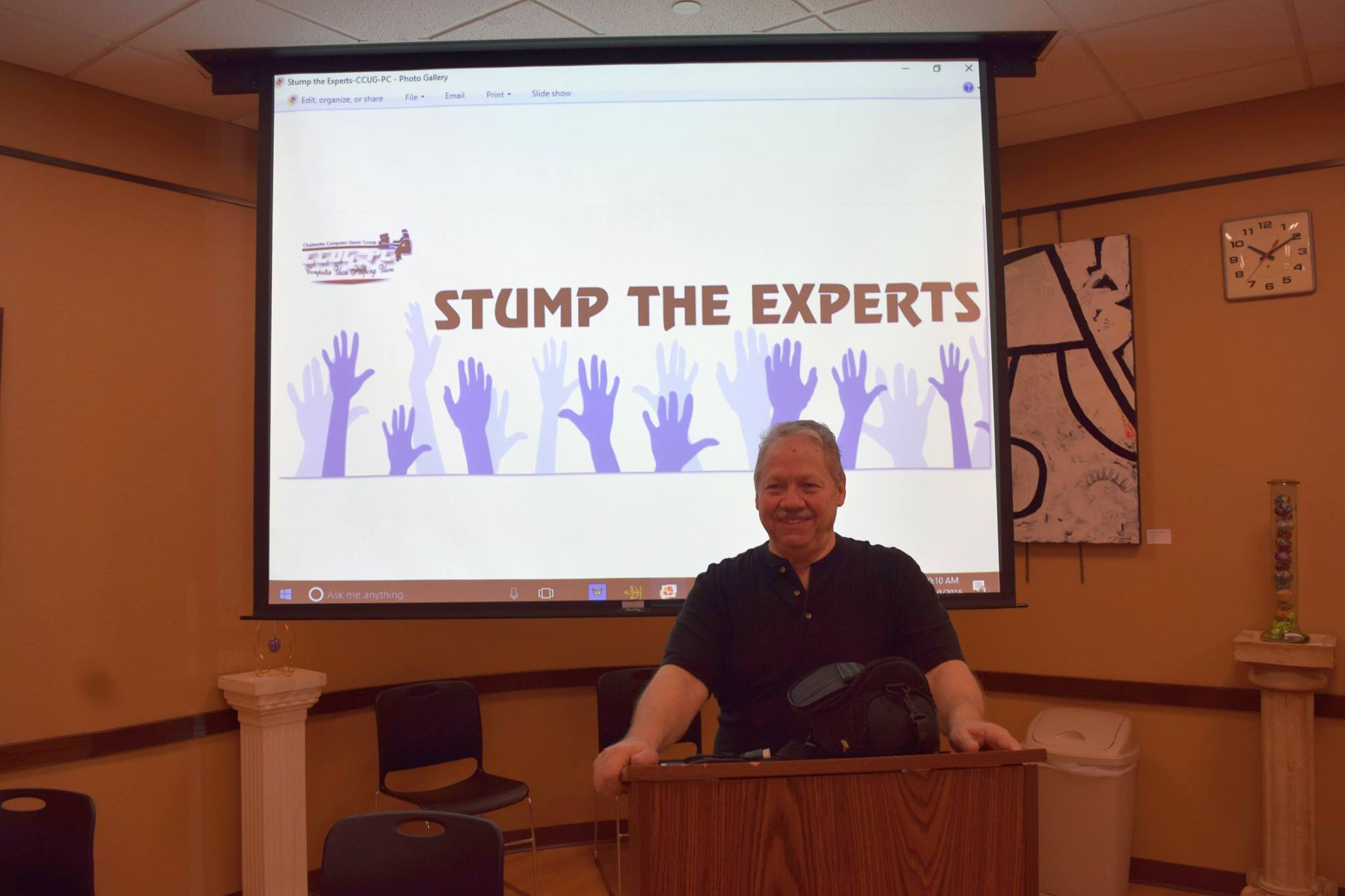 Stump the Experts!